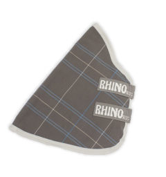 Rhino® Turnout Hood (0g Lite) - Charcoal / Blue / White Check / Gray