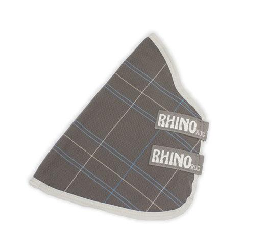 Rhino® Turnout Hood (0g Lite) - Charcoal / Blue / White Check / Gray