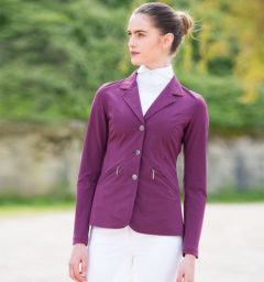 Ladies Competition Jacket Berry