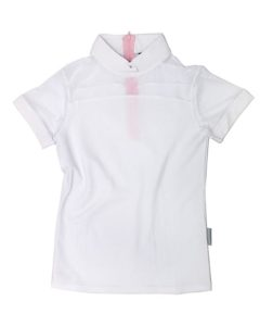 Emma Girls Short Sleeve Pique Top