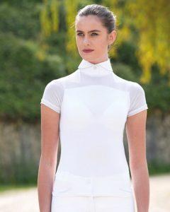 Emma Short Sleeve Pique Top
