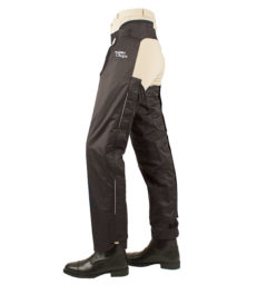 Fleece Lined Chaps Black