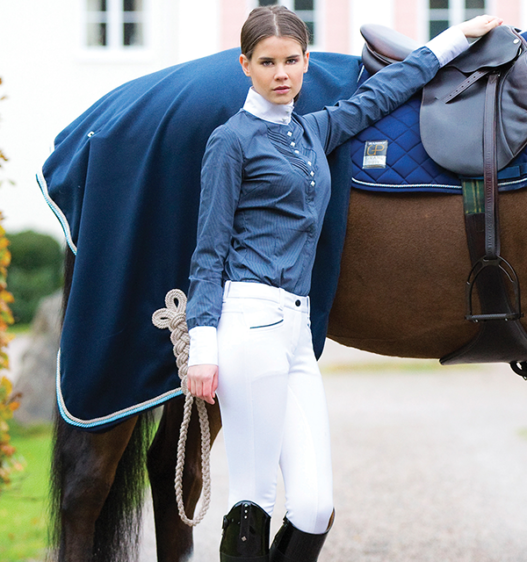 Ladies Competition Breeches White