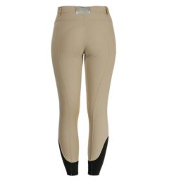 Ladies Competition Breeches Self Seat Beige