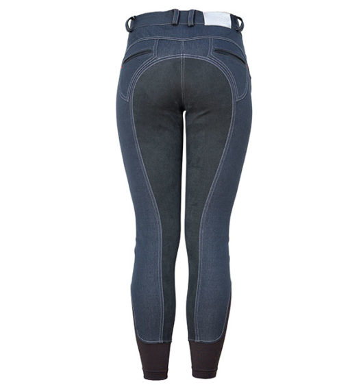 Denim Knee Patch Ladies Breeches