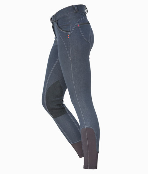 Ladies Denim Breeches K/P