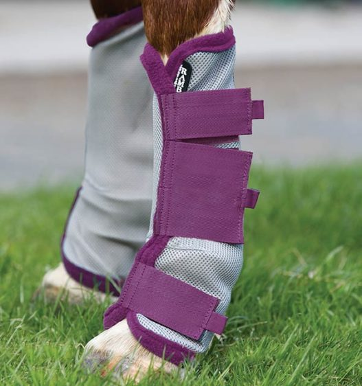 Amigo Flyboots - protects the legs of your horse from flies.