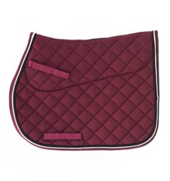 English saddle pad for all shows