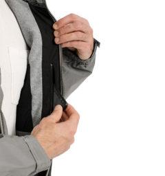 Corrib Reflective Jacket pocket detail