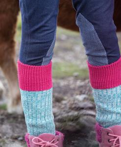 Wooly Knee Socks
