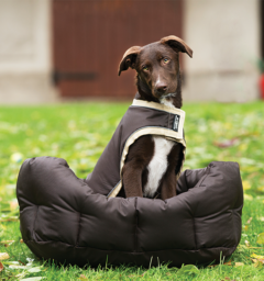 Rambo Waterproof Dog Blanket Brown/Cream