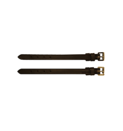 Rambo® Micklem® Bit Strap - Brass Hardware