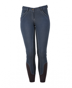 Ladies Denim Breeches Fashion