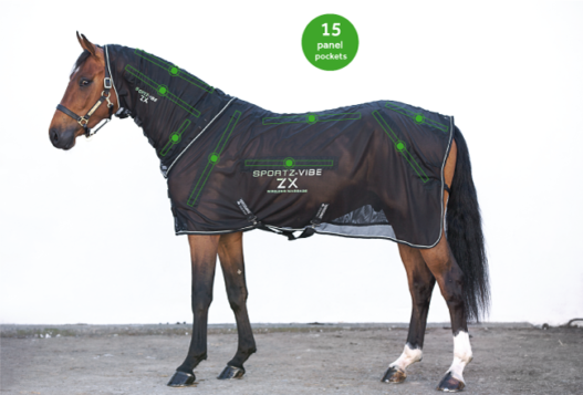Sportz-Vibe® ZX® Horse Blanket - Wireless Massage Blanket