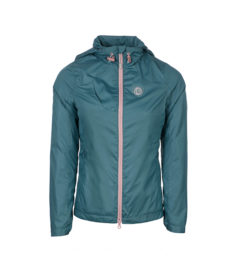 Nessa Riding Jacket Moroccan Blue Front View