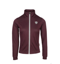 Triona Track Top Fig Front