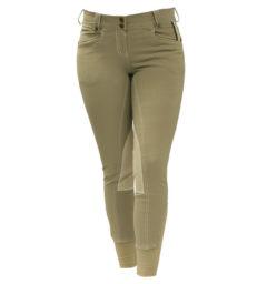 Adalie Knee Patch Ladies Breeches Tan by Horseeware