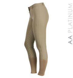 AA Summer Silicon Ladies Breeches tan