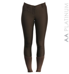 AA Summer Silicon Ladies Breeches chocolate