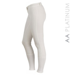 AA Summer Silicon Ladies Breeches white
