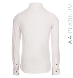Ella Competition Shirt - White / Timber