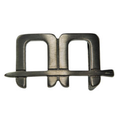 AA Belt Buckle Gun Metal