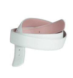 AA Reversible Belt Pink/White