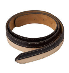 AA Bi-color Belt Tan/Brown