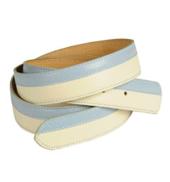 AA Bi-color Belt Ice/Blue