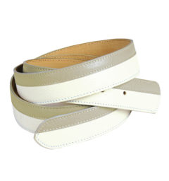 AA Bi-color Belt Ice/Khaki
