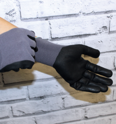 Weekly Deal - Coated Gloves Smooth Grip 2pk