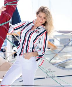 Channelle Stripe Shirt