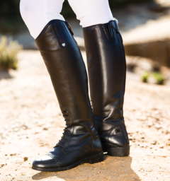 Horseware® Leather Long Riding Boot Wide (Ladies)