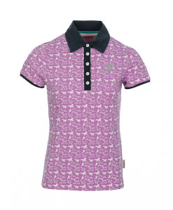 Ashlinn Horse Print Ladies Polo