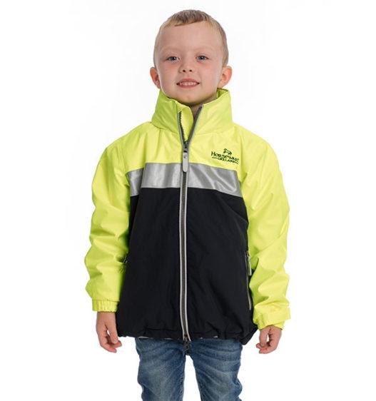 Corrib Neon Jacket Kids