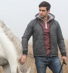 Finn Jacket - Charcoal by Horseware
