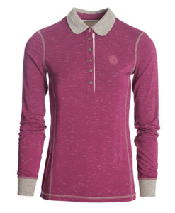 Enya Long Sleeve Technical Polo