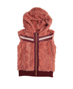Super Luxe Faux Fur Hooded Gilet