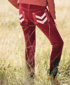 Kids Knitted Corduroy Breeches