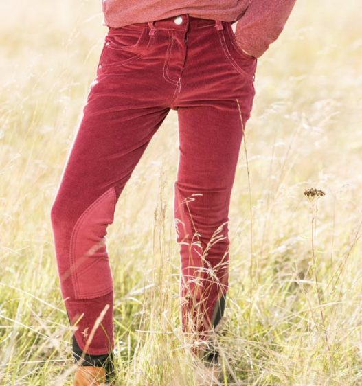 Kids Knitted Cord Pull up Breeches