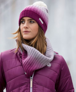 Ombre Bobble Hat & Snood