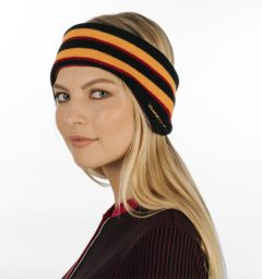 Striped Ear Warmers by Horseware