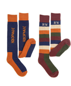 Two Pack Winter Polo Socks