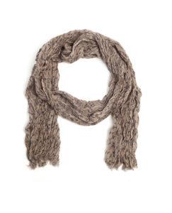 AA All-Season Platinum Wool Scarf