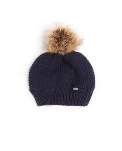 Wool Pom-Pom Hat