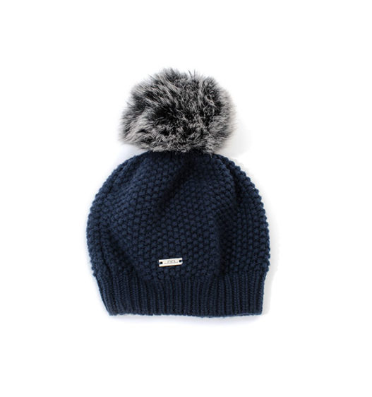 Winter Wool Pom-Pom Hat