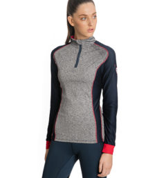 Elena Wicking Long Sleeve Technical Top