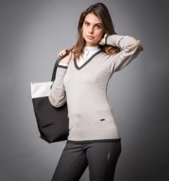 Asti Classic V Neck Sweater
