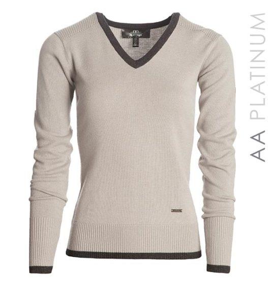 Asti Classic V Neck Sweater