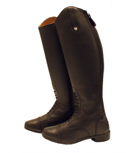 Horseware® Leather Long Riding Boot Wide (Mens)